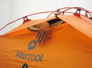 Ventilația cortului